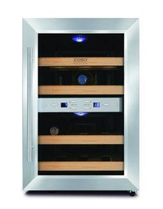 CASO WineDuett 12 Design Weinkühlschrank für bis zu 12 Flaschen PLATZ 3