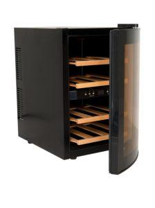 H.Koenig AGE12WV Weinkühlschrank 12 Flaschen 2 Temperaturzonen PLATZ 5