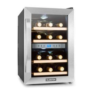Klarstein Reserva • Weinkühlschrank • Getränkekühlschrank • 34 Liter • 12 Flaschen • 4 Regaleinschübe -PLATZ 4
