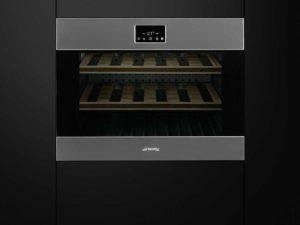 Smeg CVI318X Einbau Weinkühlschrank Weinklimaschrank PLATZ 4