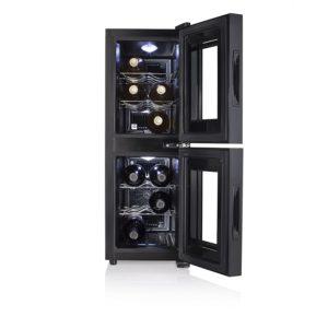 Tristar WR-7512 Zwei-Zonen Weinkühlschrank für 12 Flaschen PLATZ 1