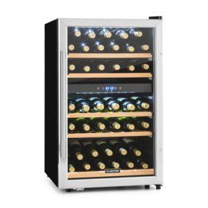 Klarstein Vinamour 40D • Weinkühlschrank • Getränkekühlschrank • Gastro-Kühlschrank • 2 Zonen