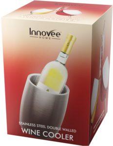 Innovee Weinkühler – Aus hochwertigem doppelwandiger Edelstahl